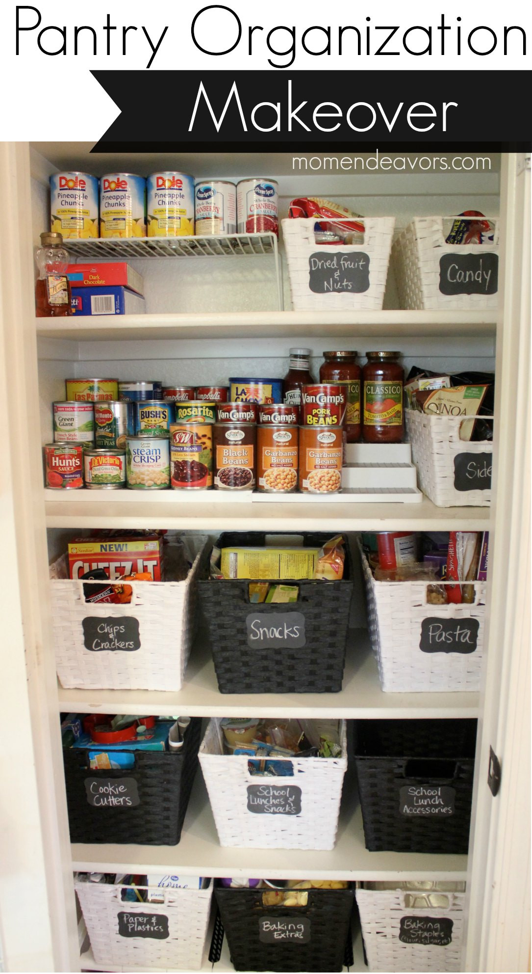 Best ideas about Organizing A Pantry . Save or Pin 20 Incredible Small Pantry Organization Ideas and Now.
