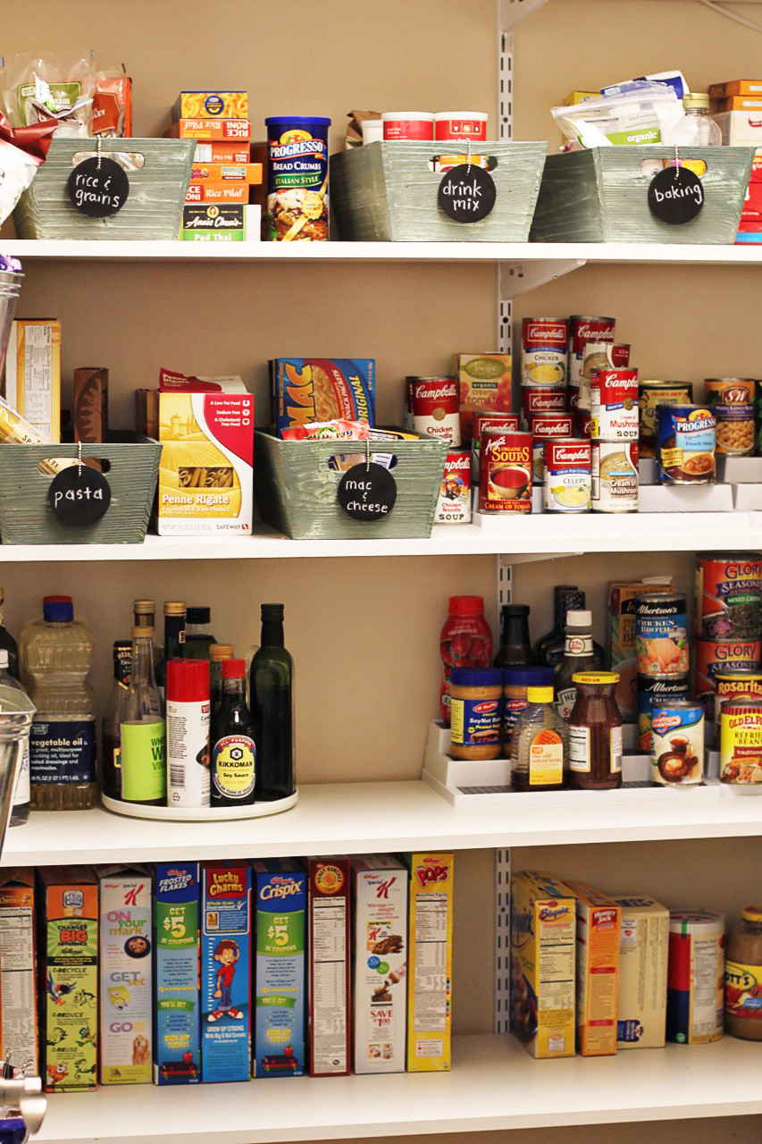 Best ideas about Organizing A Pantry . Save or Pin Chalkboard Tags and My Organized Pantry Now.