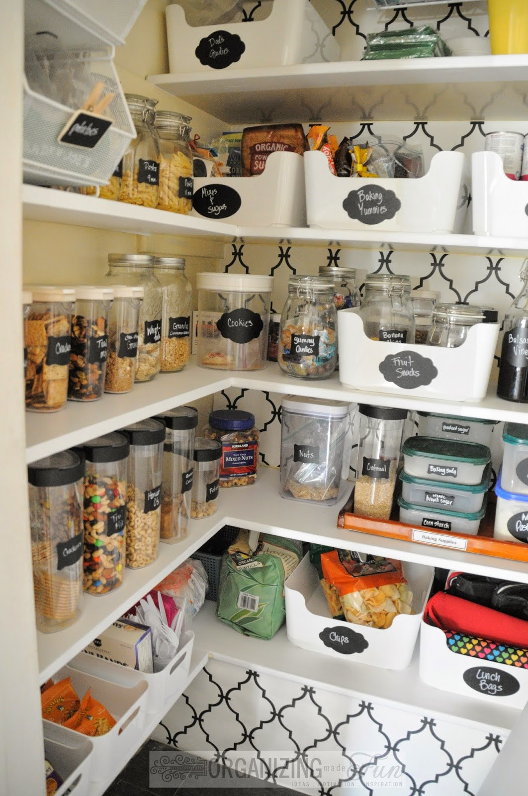 Best ideas about Organizing A Pantry . Save or Pin Pantry Organization Inspiration Organizing Made Fun Now.