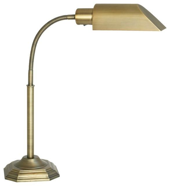 Best ideas about Ott Light Desk Lamp . Save or Pin OTT LITE Alexander Brass Energy Saving Gooseneck Desk Lamp Now.