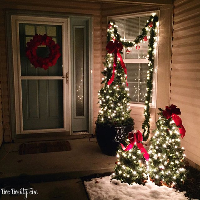 Best ideas about Outdoor Christmas Decor . Save or Pin 27 Cheerful DIY Christmas Decoration Ideas You Should Look Now.