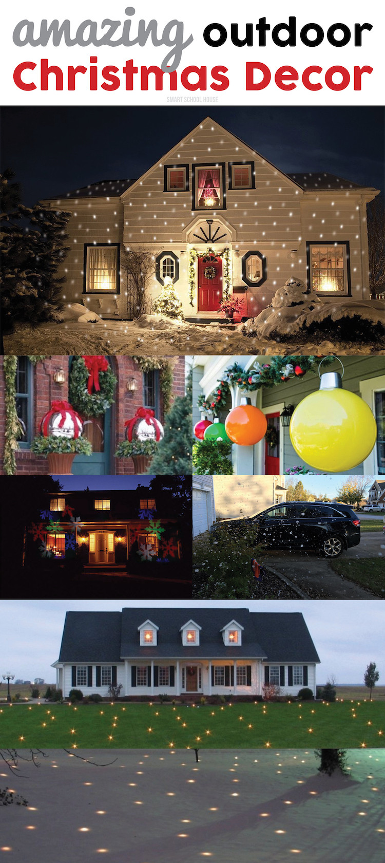 Best ideas about Outdoor Christmas Decor . Save or Pin Outdoor Christmas Decor Now.