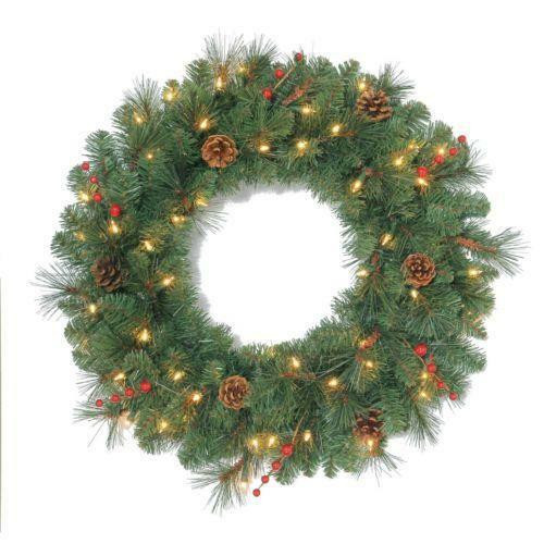 Best ideas about Outdoor Christmas Garland . Save or Pin Outdoor Christmas Wreath Now.