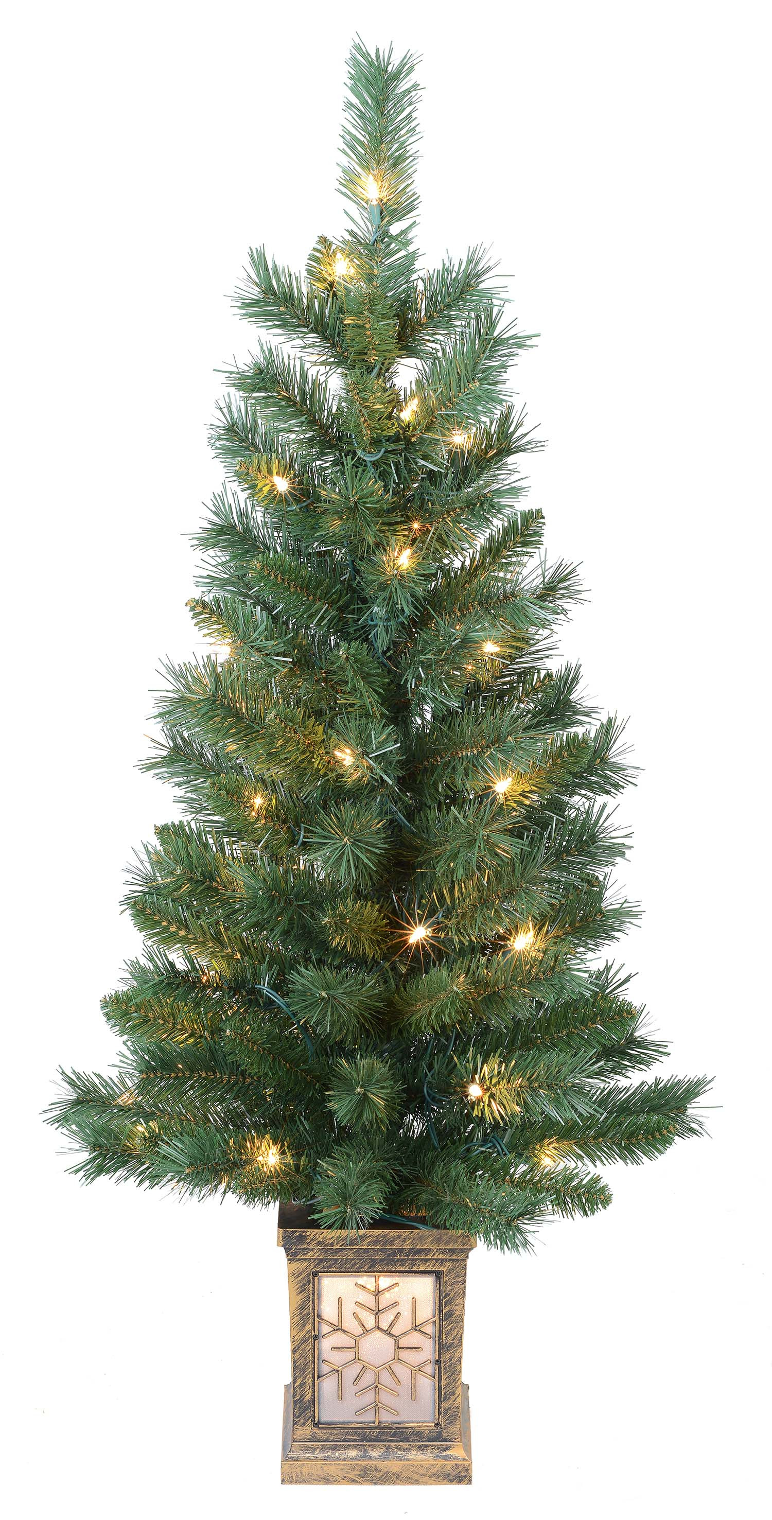 Best ideas about Outdoor Christmas Garland . Save or Pin Outdoor Lighted Christmas Yard Decorations Pre Lit Tree Now.
