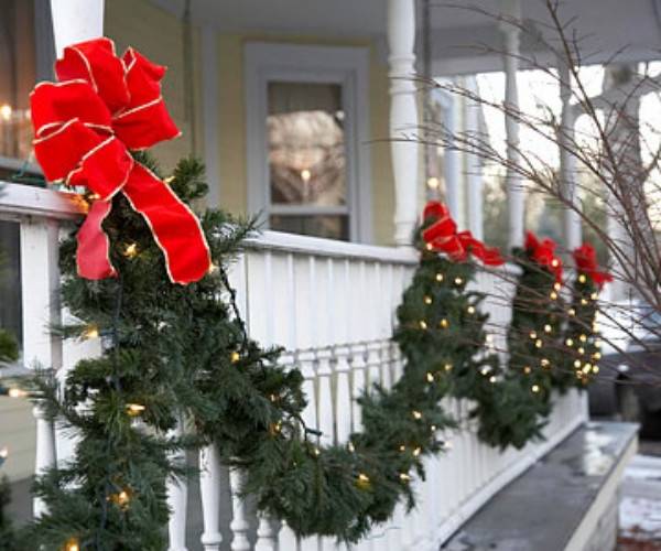 Best ideas about Outdoor Christmas Garland . Save or Pin Let the magic begin with unique outdoor Christmas lights Now.