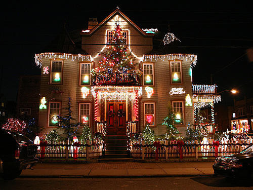 Best ideas about Outdoor Christmas Lights Ideas . Save or Pin Top 10 Biggest Outdoor Christmas Lights House Decorations Now.