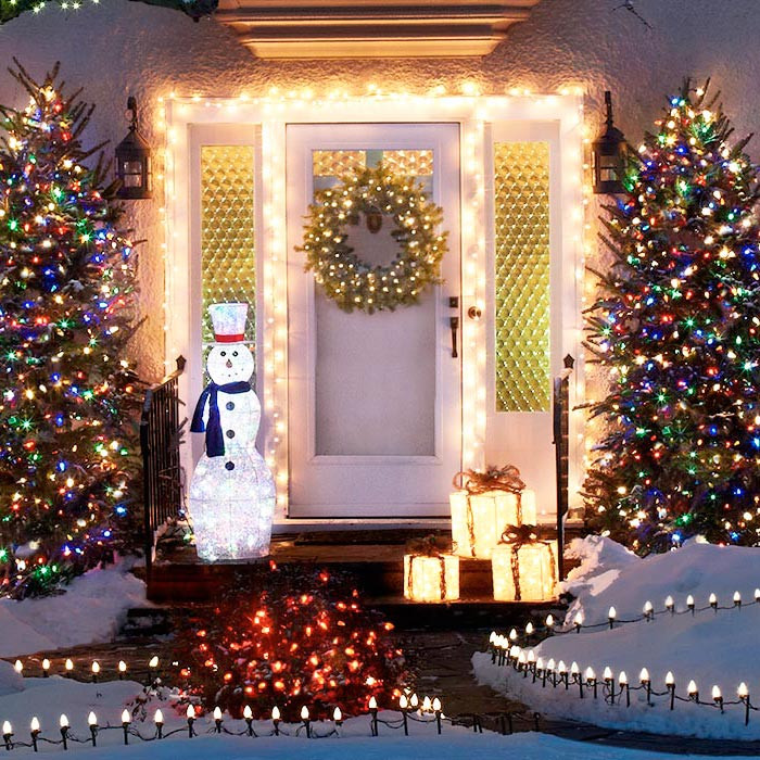 Best ideas about Outdoor Christmas Lights Ideas . Save or Pin Outdoor Holiday Lighting Ideas Now.