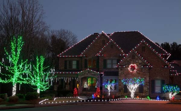 Best ideas about Outdoor Christmas Lights Ideas . Save or Pin Top 46 Outdoor Christmas Lighting Ideas Illuminate The Now.
