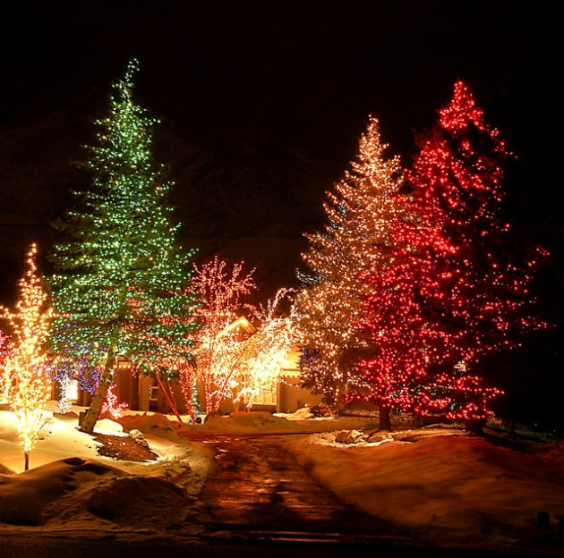 Best ideas about Outdoor Christmas Lights Ideas . Save or Pin The Best 40 Outdoor Christmas Lighting Ideas That Will Now.