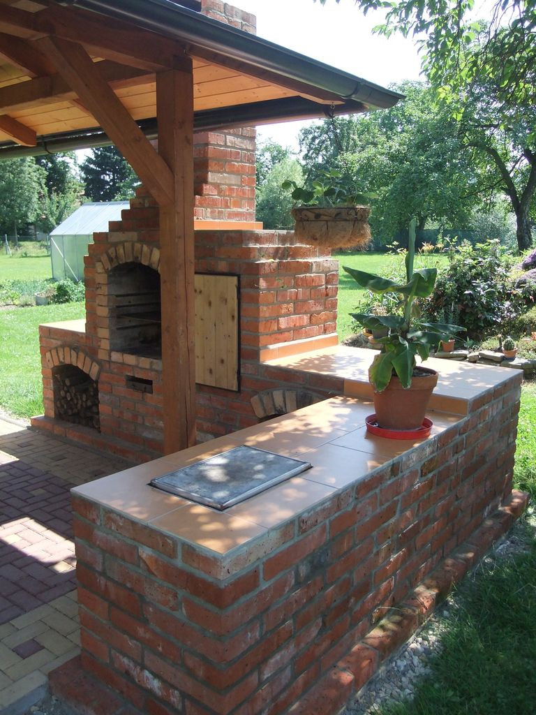 Best ideas about Outdoor Fireplace DIY . Save or Pin DIY outdoor fireplace with grill Now.