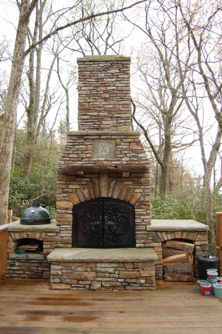 Best ideas about Outdoor Fireplace DIY . Save or Pin DIY Outdoor Fireplace DIY Now.