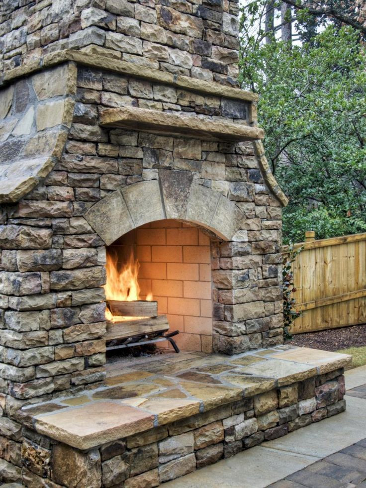 Best ideas about Outdoor Fireplace DIY . Save or Pin Best 25 Outdoor fireplaces ideas on Pinterest Now.