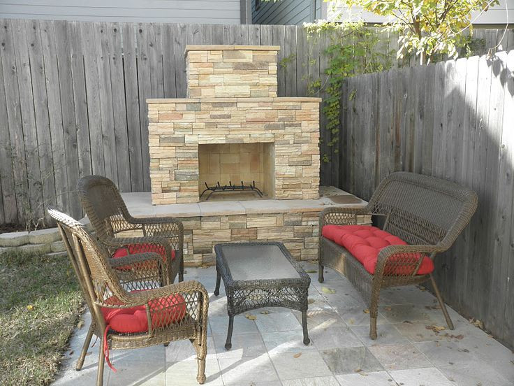 Best ideas about Outdoor Fireplace DIY . Save or Pin Outdoor fireplace Our first major DIY project We built Now.