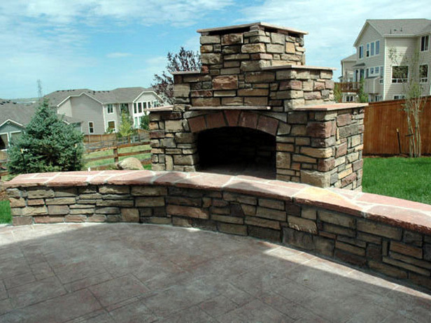 Best ideas about Outdoor Fireplace DIY . Save or Pin How to Build an Outdoor Stacked Stone Fireplace Now.