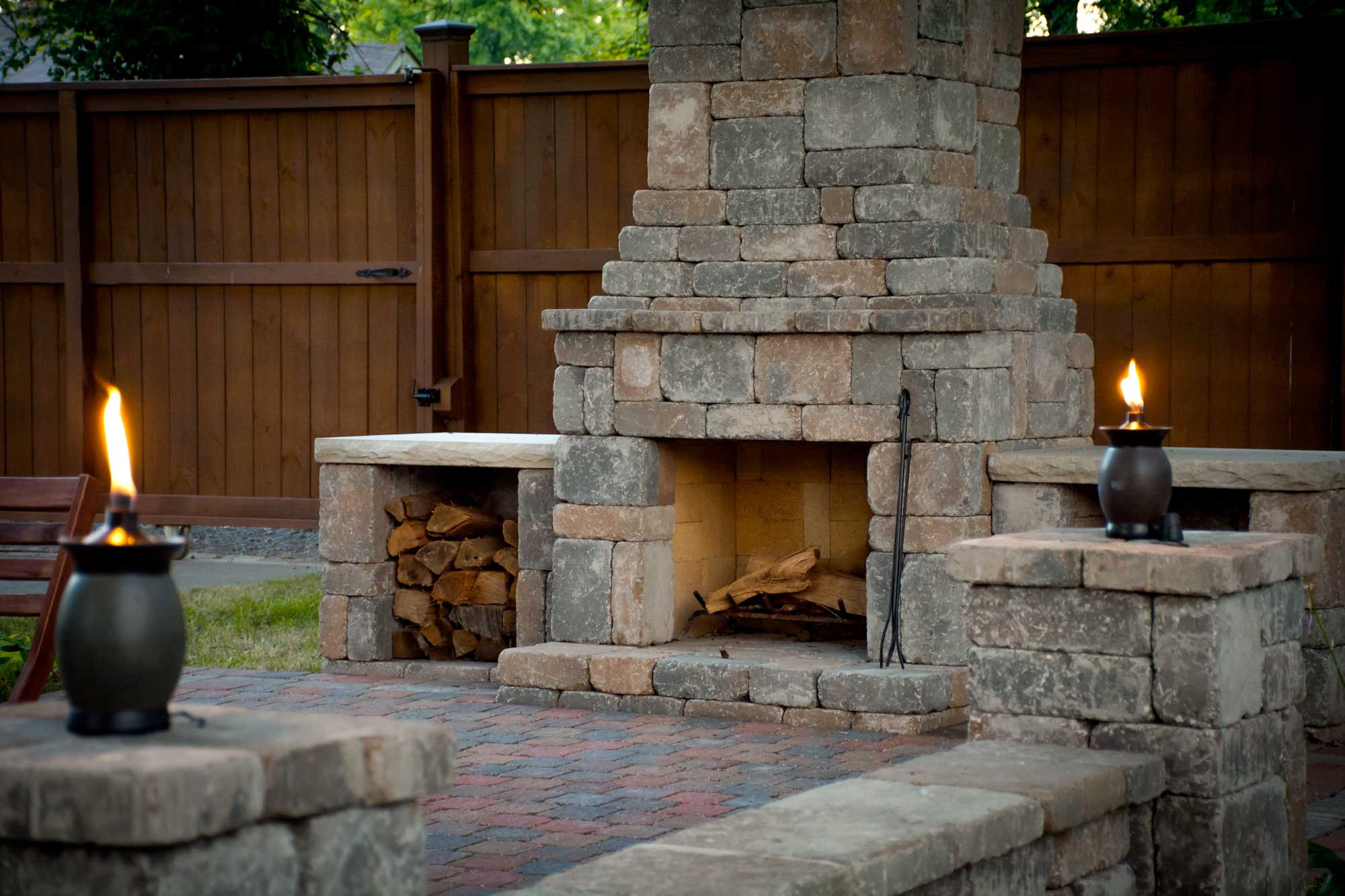 Best ideas about Outdoor Fireplace DIY . Save or Pin DIY outdoor Fremont fireplace kit makes hardscaping simple Now.
