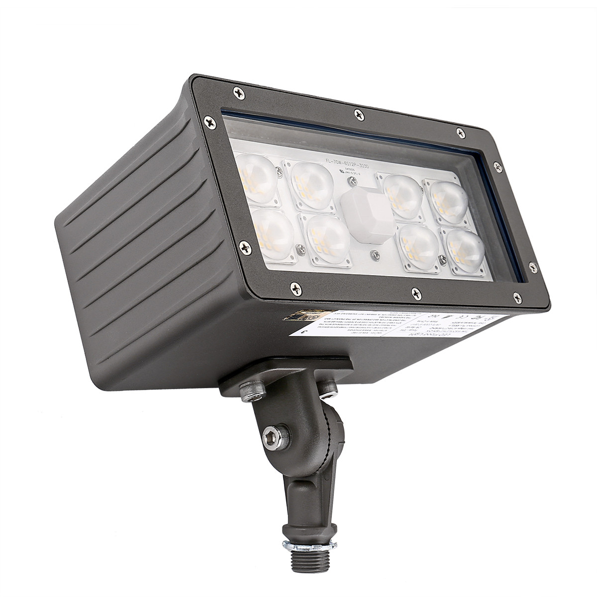 Best ideas about Outdoor Flood Light Fixtures . Save or Pin 70W LED Floodlight 6800lm Daylight White 5000K Waterproof Now.