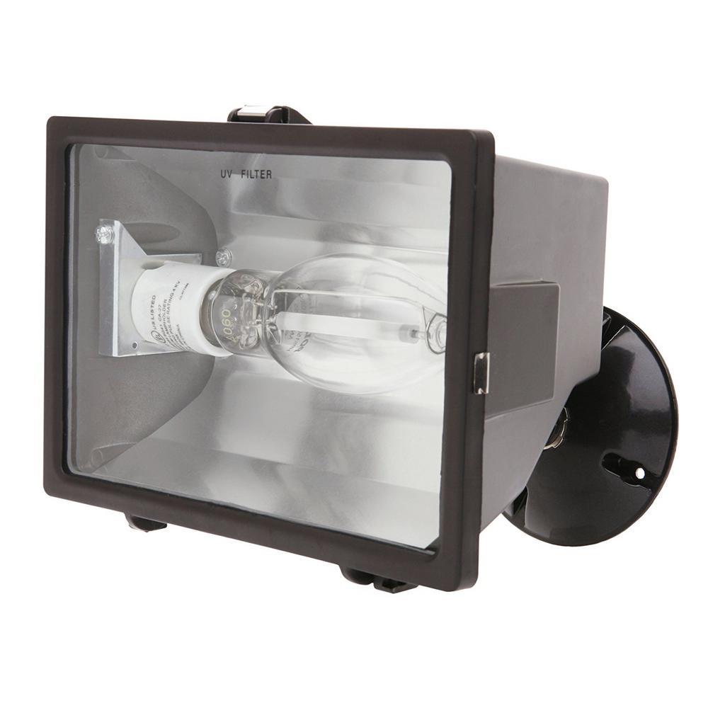 Best ideas about Outdoor Flood Light Fixtures . Save or Pin Designer s Edge 150 Watt Bronze Outdoor Flood Light with Now.