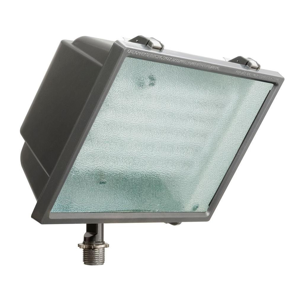 Best ideas about Outdoor Flood Light Fixtures . Save or Pin Lithonia Lighting Bronze Triple Tube Outdoor Fluorescent Now.