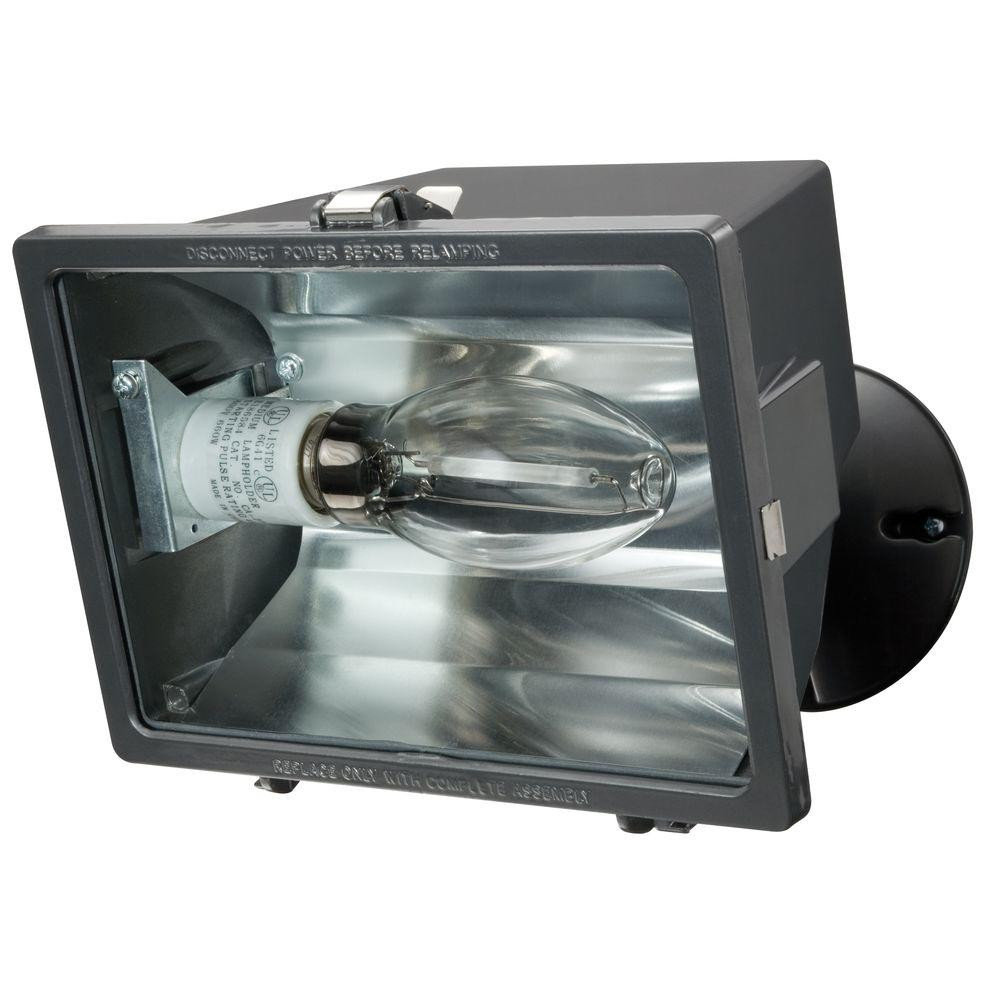 Best ideas about Outdoor Flood Light Fixtures . Save or Pin Lithonia Lighting 7 in 1 Lamp Bronze Metal Outdoor Halide Now.