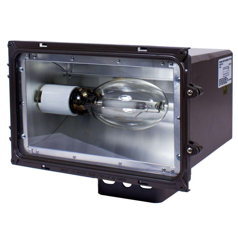 Best ideas about Outdoor Flood Light Fixtures . Save or Pin Intermatic FLL Series 250 Watt Dark Bronze Outdoor HID Now.