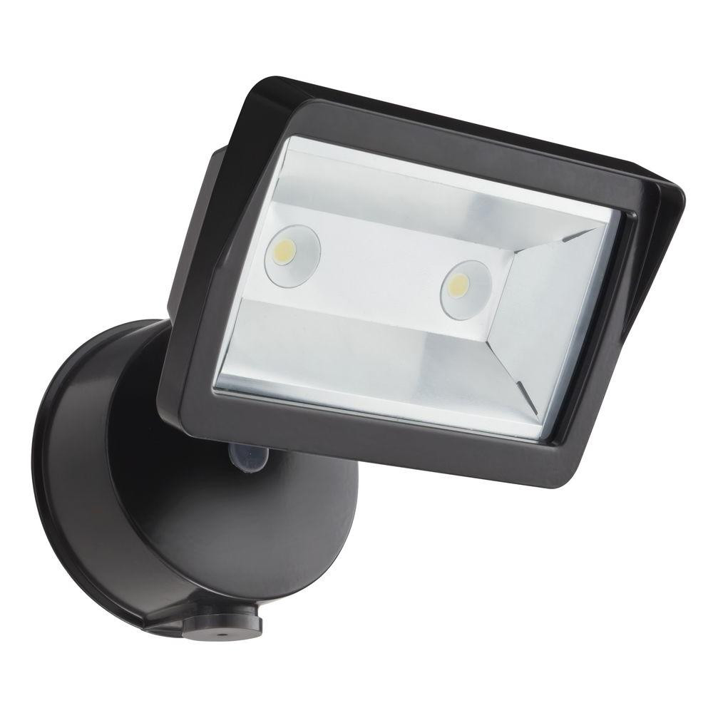 Best ideas about Outdoor Flood Light Fixtures . Save or Pin Lithonia Lighting Bronze Outdoor Integrated LED Wall Mount Now.