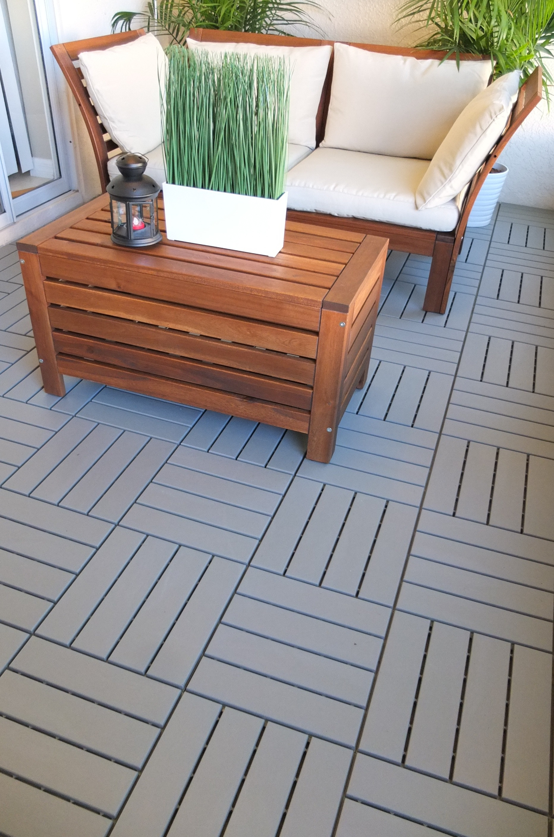 Best ideas about Outdoor Flooring Options . Save or Pin RUNNEN Decking outdoor gray Now.