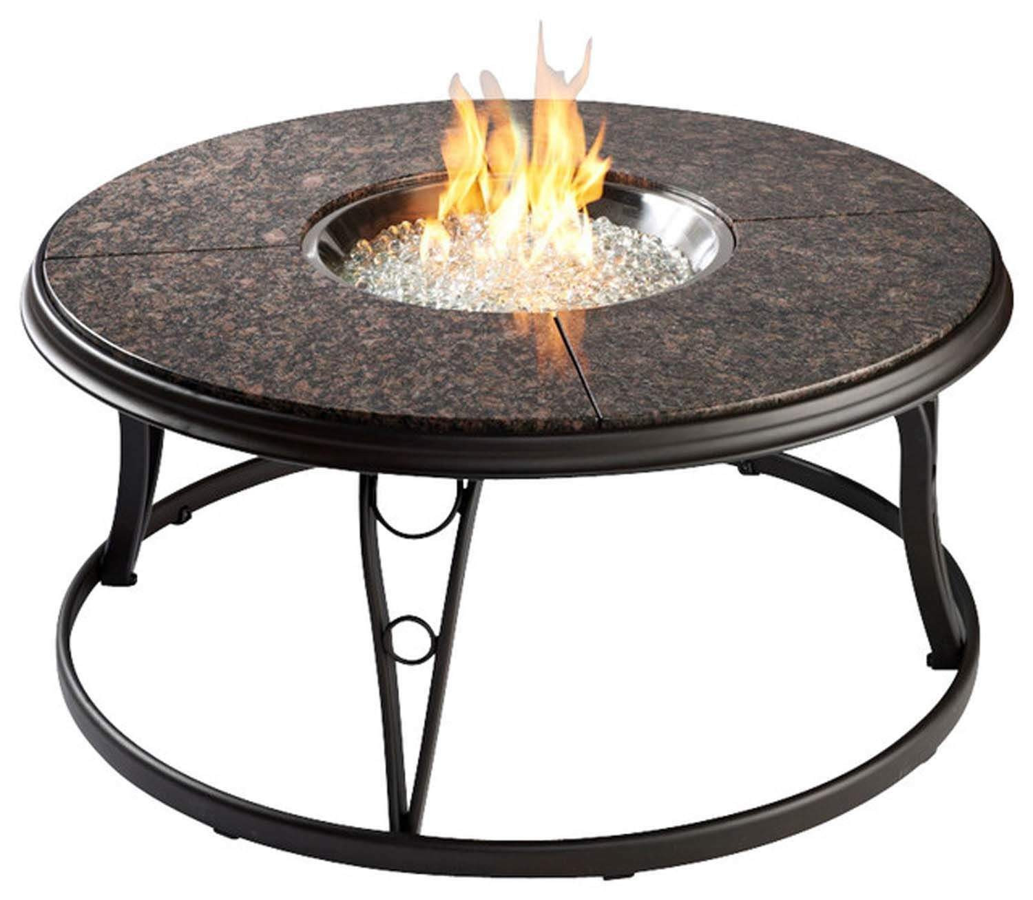 Best ideas about Outdoor Gas Fire Pits . Save or Pin Outdoor Greatroom Granite 42 Inch Round Gas Fire Pit Table Now.