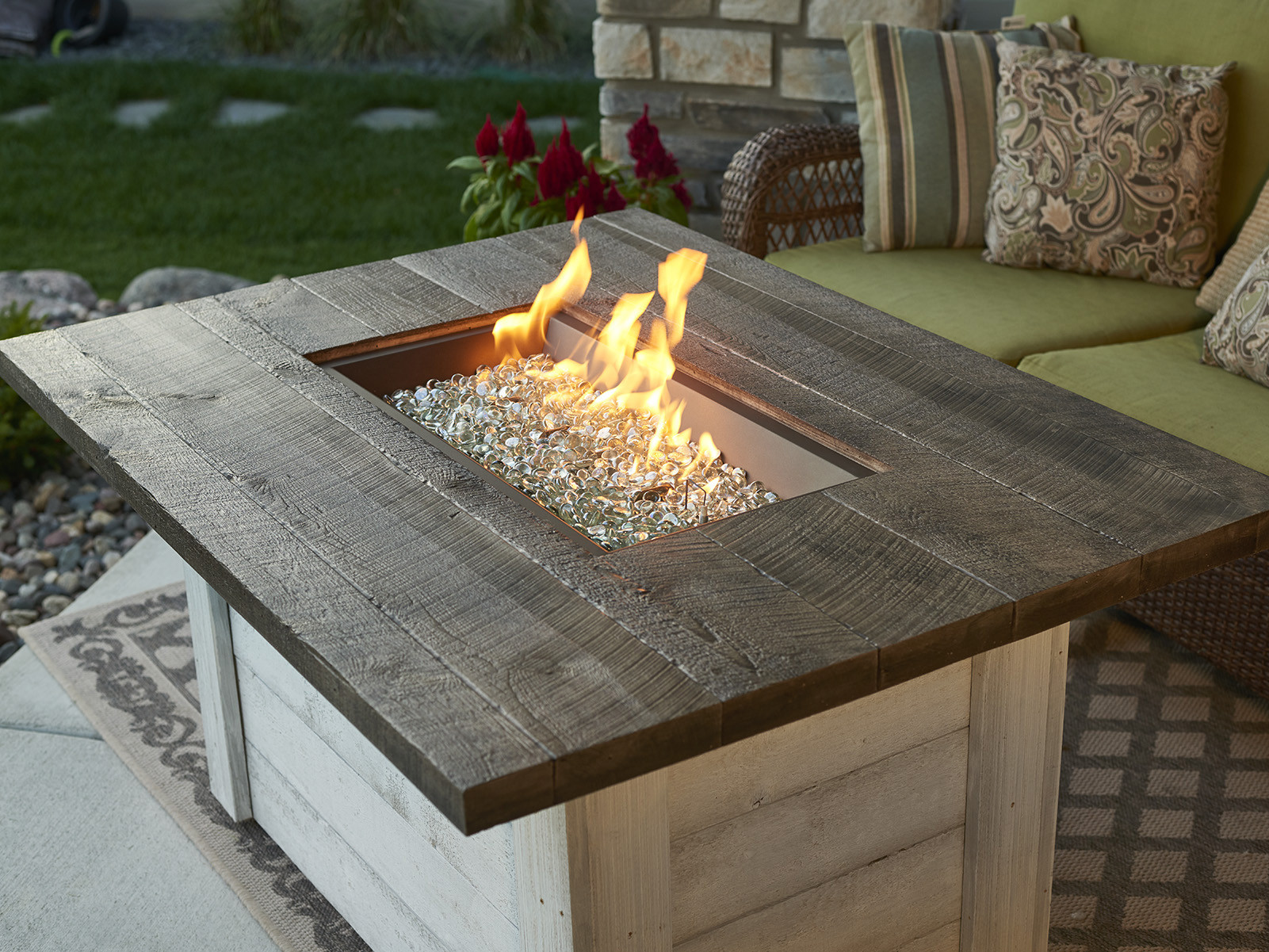 Best ideas about Outdoor Gas Fire Pits . Save or Pin Outdoor Greatroom Alcott Rectangular Gas Fire Pit Table Now.