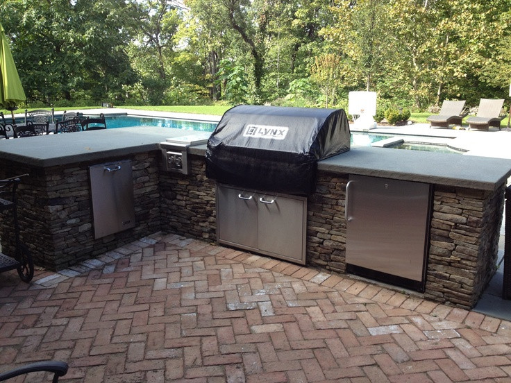 Best ideas about Outdoor Grill Enclosure . Save or Pin 14 best Grill Enclosures images on Pinterest Now.