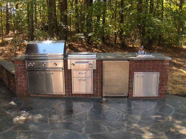 Best ideas about Outdoor Grill Enclosure . Save or Pin Outdoor Kitchens and Grill Enclosures atlanta by Now.