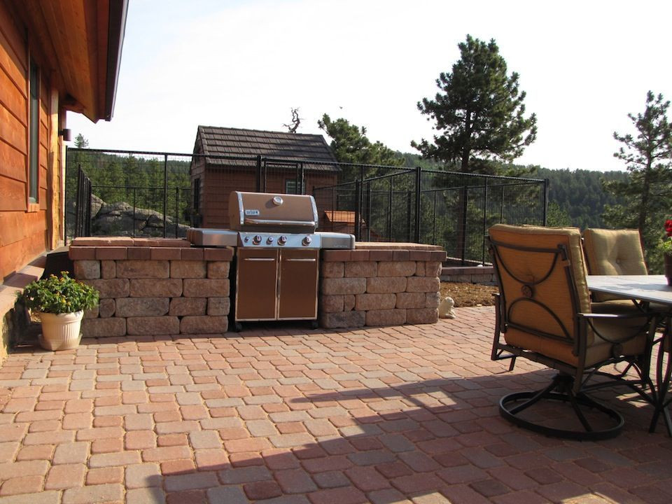 Best ideas about Outdoor Grill Enclosure . Save or Pin grill surround Patio Pinterest Now.