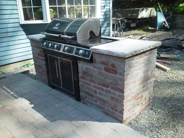 Best ideas about Outdoor Grill Enclosure . Save or Pin Patio Grill Enclosure Now.
