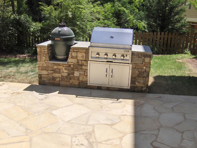 Best ideas about Outdoor Grill Enclosure . Save or Pin Outdoor Kitchens and Grill Enclosures Landscape Now.