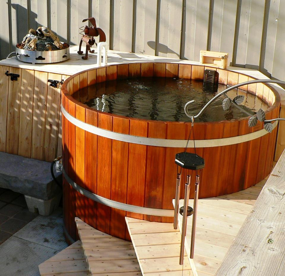 Best ideas about Outdoor Hot Tubs . Save or Pin Cedar Hot Tub Now.
