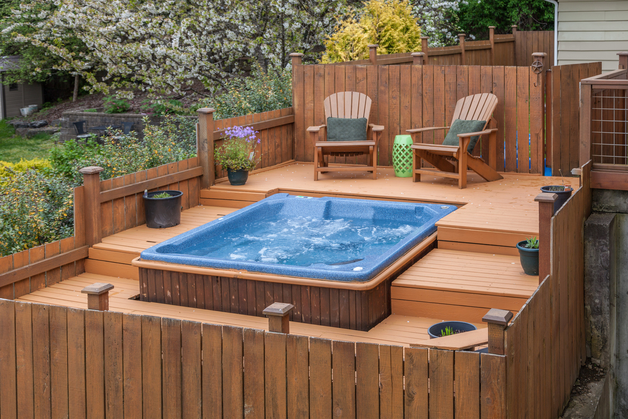 Best ideas about Outdoor Hot Tubs . Save or Pin Installing an Outdoor Hot Tub Considerations Now.