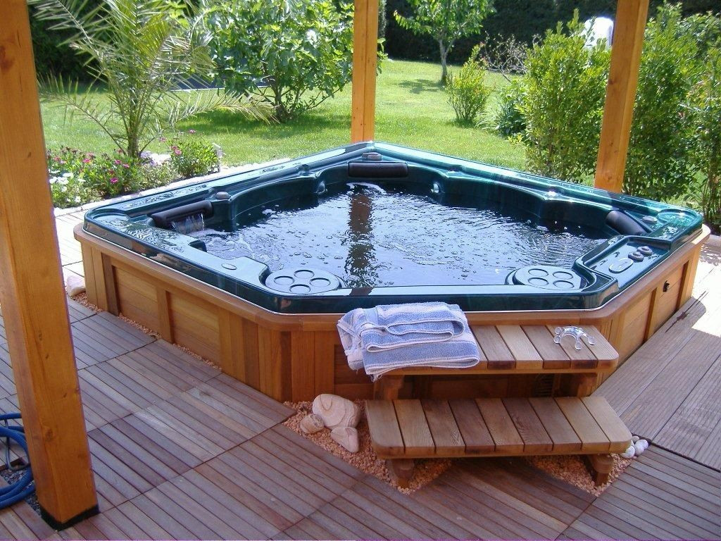 Best ideas about Outdoor Hot Tubs . Save or Pin Outdoor Jacuzzi hot tubs and what you should know about Now.