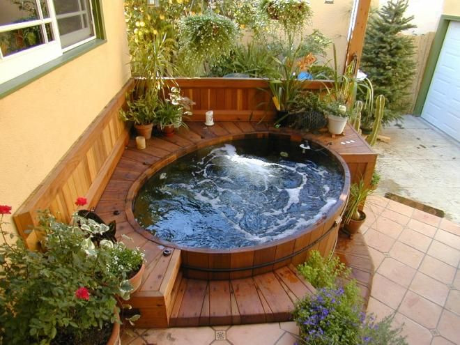 Best ideas about Outdoor Hot Tubs . Save or Pin Best 25 Tub Surround ideas on Pinterest Now.
