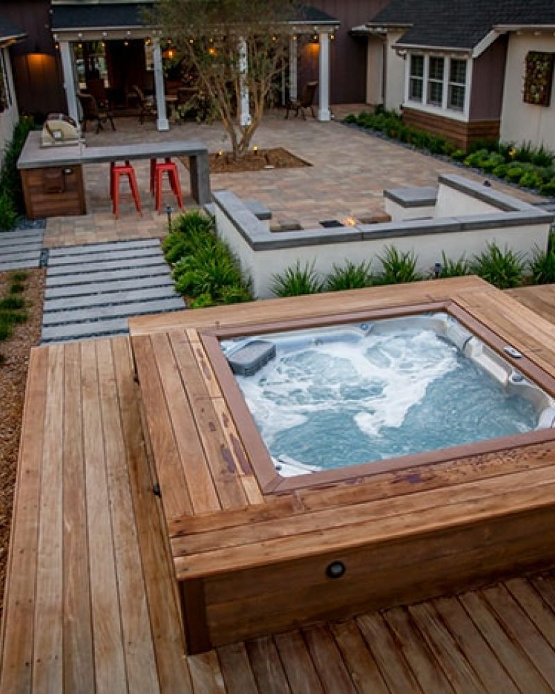 Best ideas about Outdoor Hot Tubs . Save or Pin Ace Swim & Leisure Hot Tubs Pools & Backyard Leisure Now.