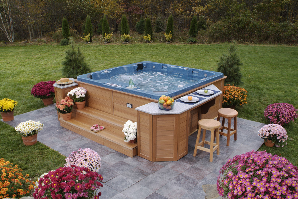 Best ideas about Outdoor Hot Tubs . Save or Pin How to Choose the Outdoor Jacuzzi TheyDesign Now.