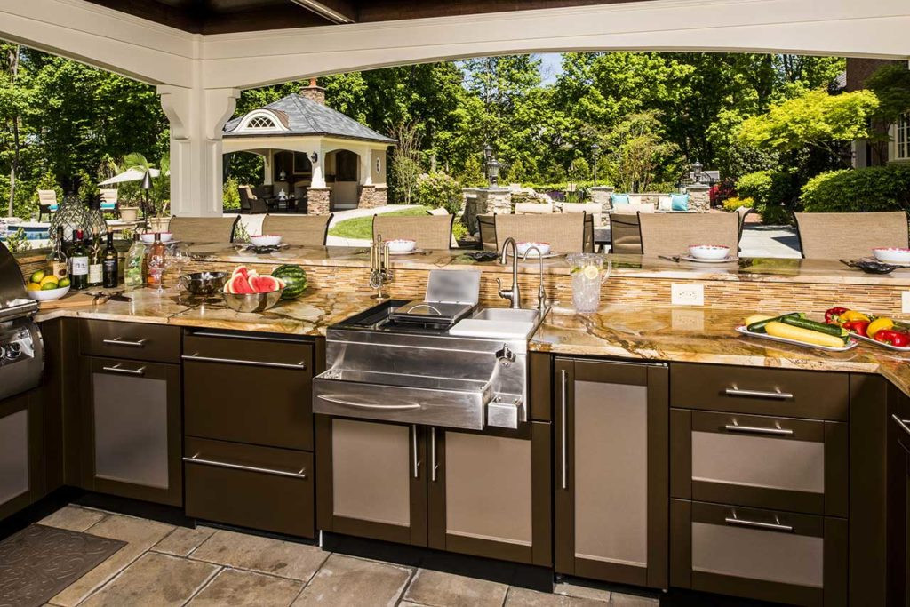 Best ideas about Outdoor Kitchen Countertops . Save or Pin Best Outdoor Kitchen Countertop Ideas and Materials Now.
