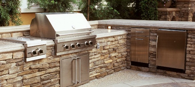 Best ideas about Outdoor Kitchen Countertops . Save or Pin Best Outdoor Kitchen Countertops pared Now.