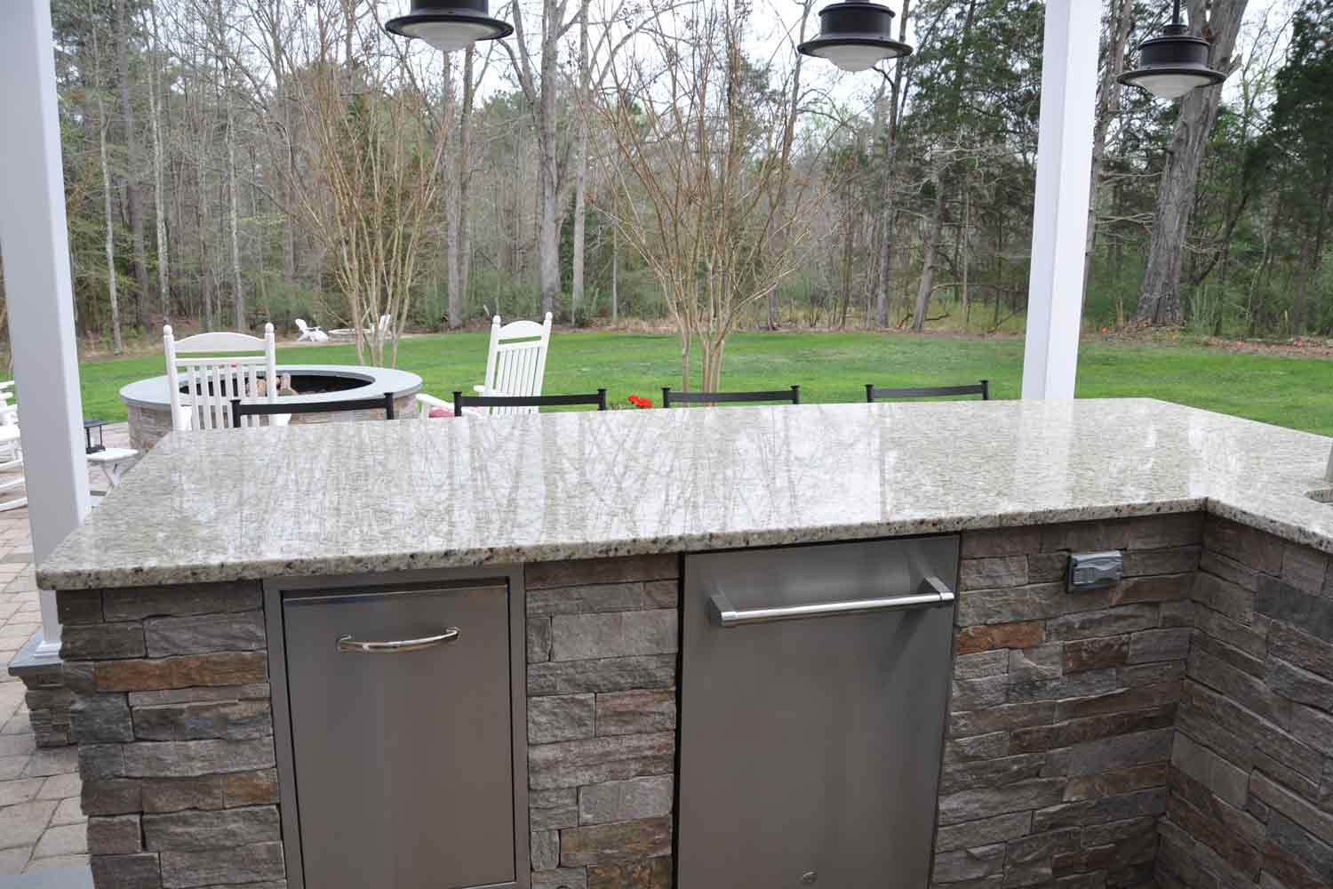 Best ideas about Outdoor Kitchen Countertops . Save or Pin of Granite Marble Quartz Countertops Now.