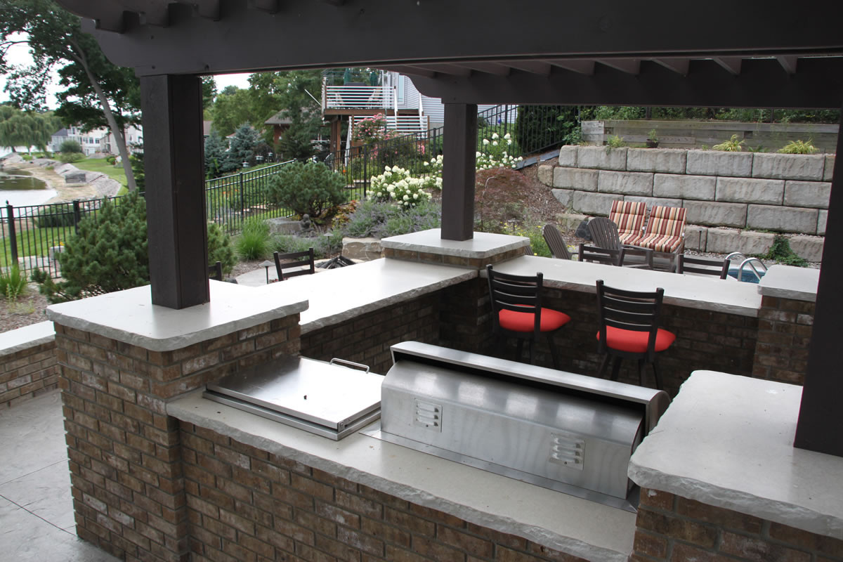Best ideas about Outdoor Kitchen Countertops . Save or Pin Best Outdoor Countertop Ideas Now.