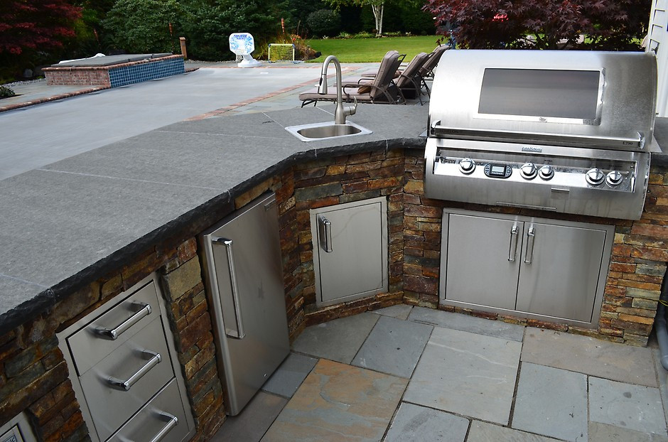 Best ideas about Outdoor Kitchen Countertops . Save or Pin 7 Tips for Designing the Best Outdoor Kitchen Now.
