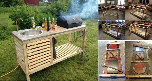 Best ideas about Outdoor Kitchen Diy . Save or Pin Wonderful DIY Perfect Portable Outdoor Kitchen Now.