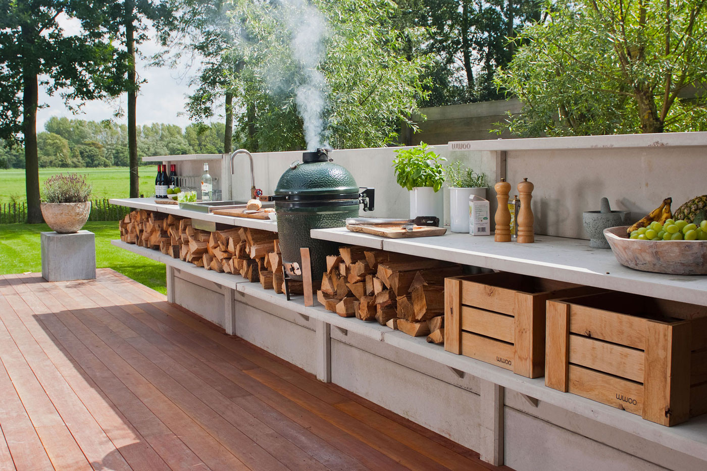 Best ideas about Outdoor Kitchen Diy . Save or Pin 15 Outdoor Kitchen Designs That You Can Help DIY Now.