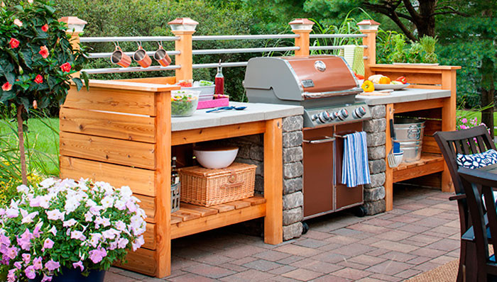 Best ideas about Outdoor Kitchen Diy . Save or Pin 10 Outdoor Kitchen Plans Turn Your Backyard Into Now.