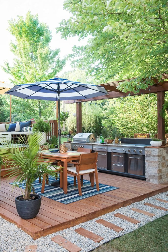 Best ideas about Outdoor Kitchen Diy . Save or Pin 15 DIY Outdoor Kitchen Plans That Make It Look Easy Now.