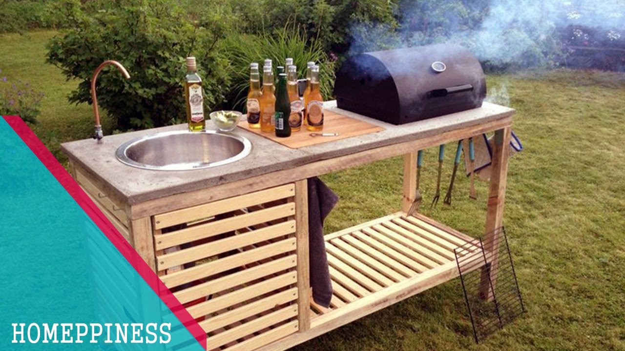 Best ideas about Outdoor Kitchen Diy . Save or Pin NEW DESIGN 2017 20 DIY Outdoor Kitchen Ideas Now.