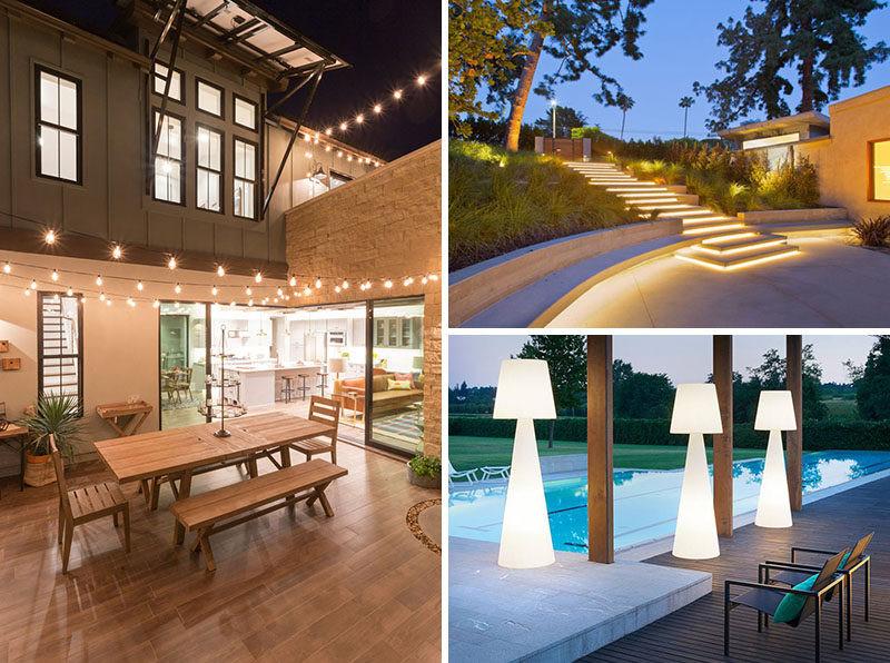 Best ideas about Outdoor Lighting Ideas . Save or Pin 8 Outdoor Lighting Ideas To Inspire Your Spring Backyard Now.